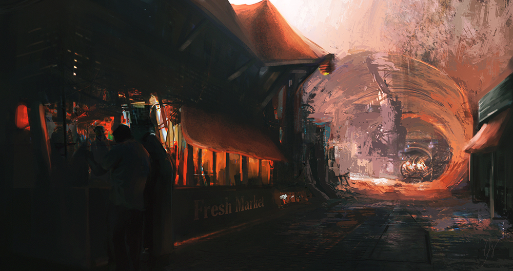 Fresh Market Concept