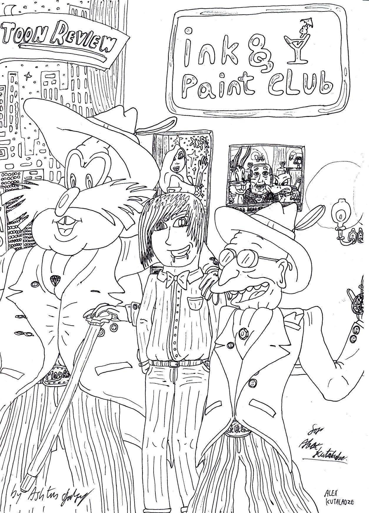 AK at the Ink and Paint Club