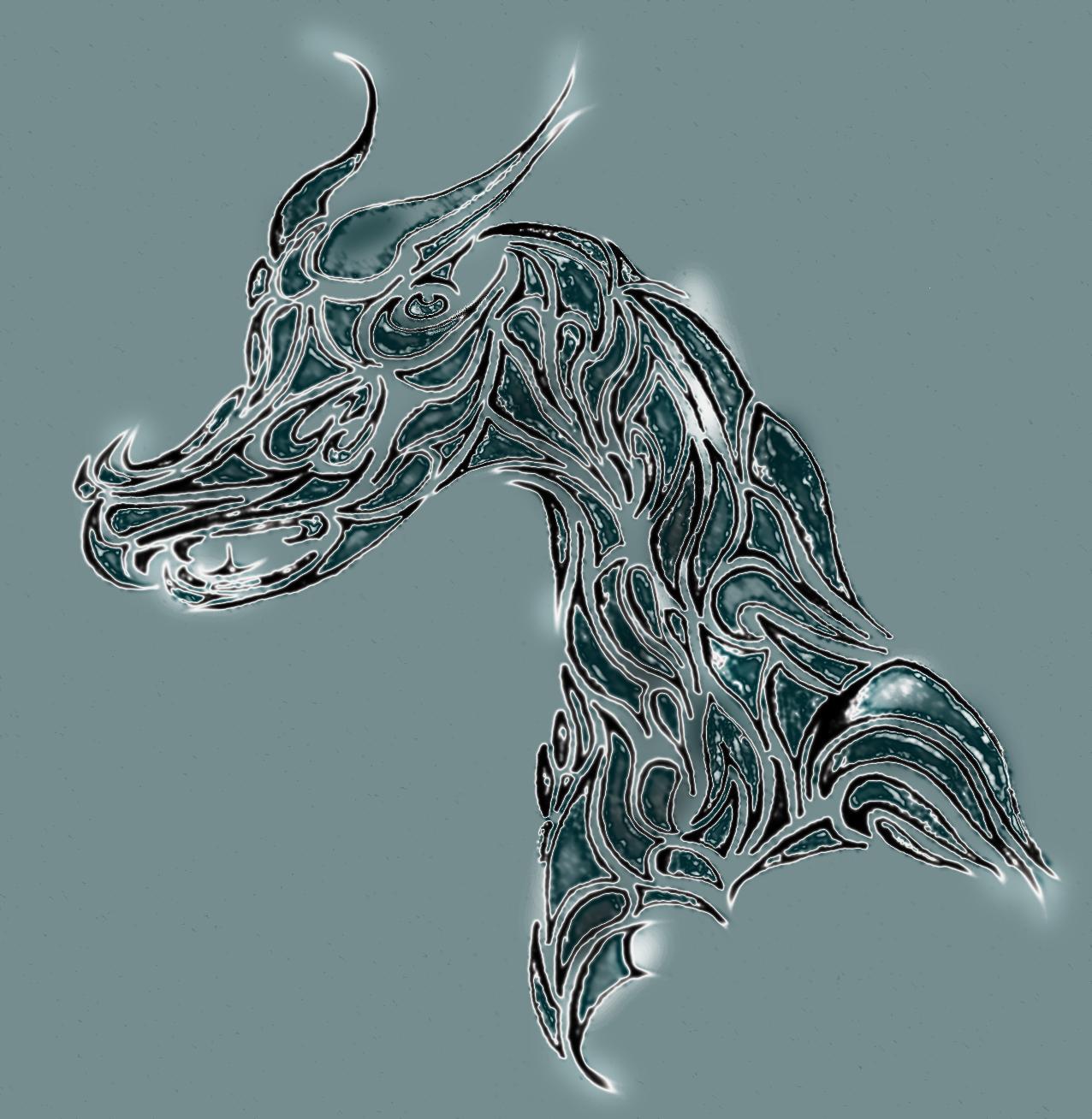 Dragon Tattoo Photoshop edit