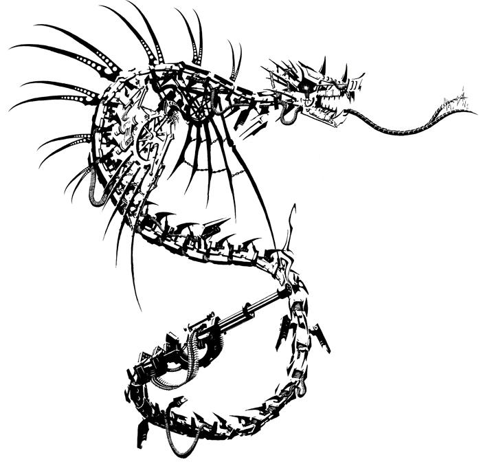 Clackwork Dragon