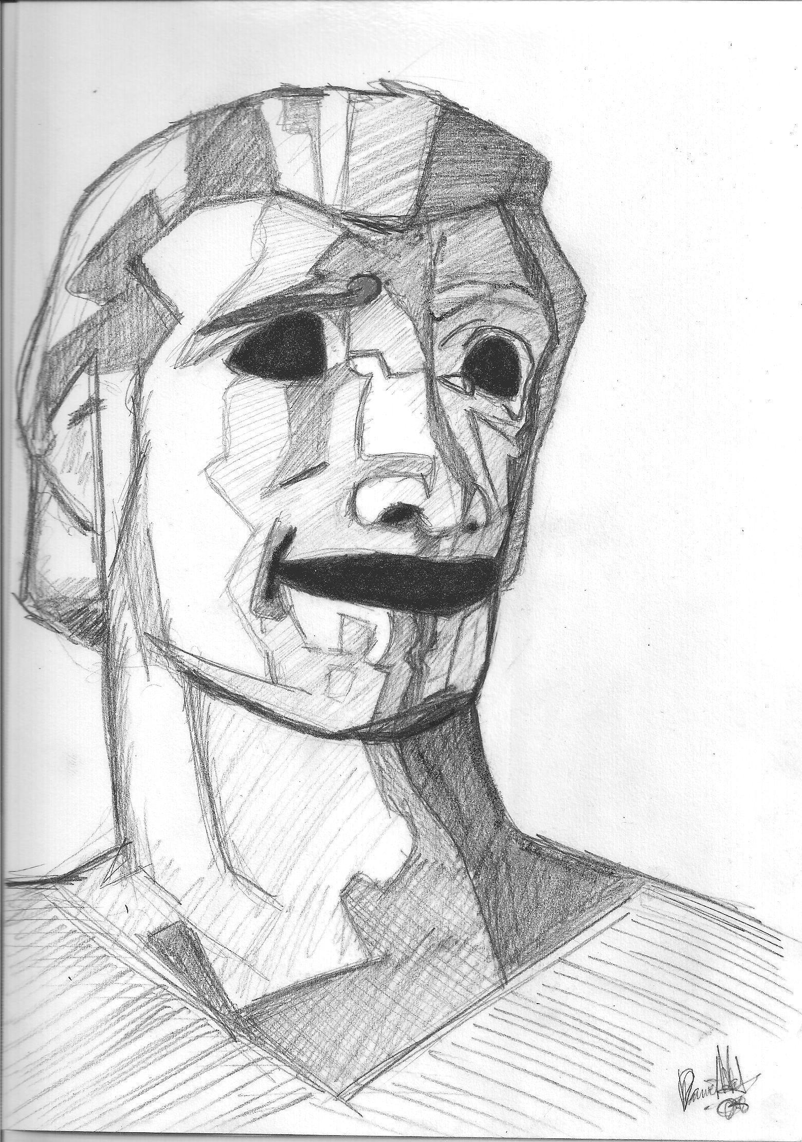 Hollow Eyes Man