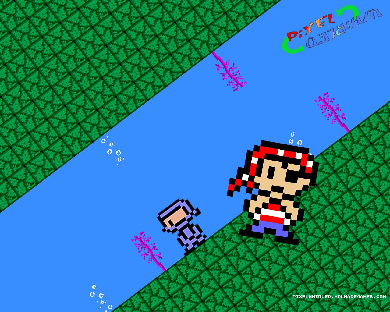 Pixel Whirled - Wallpaper 1