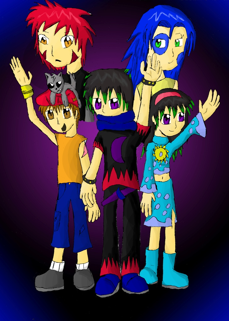 MoonLight Heroes!