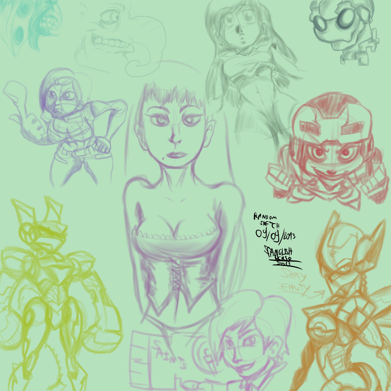 Random sketch 09 09 2013