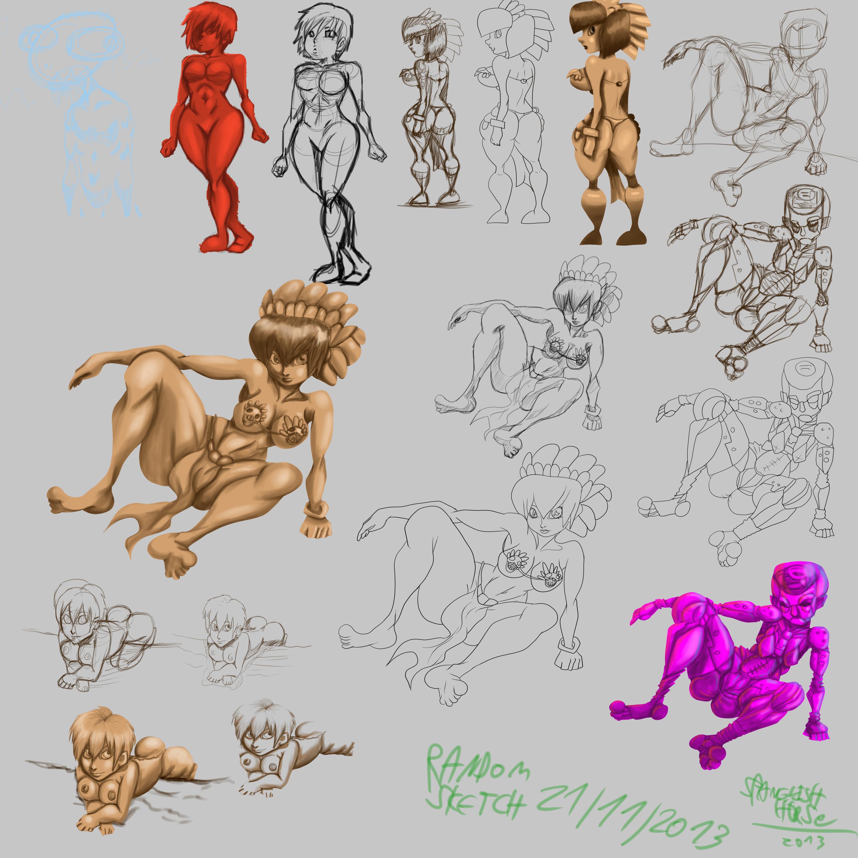 random sketch 21 11 2013