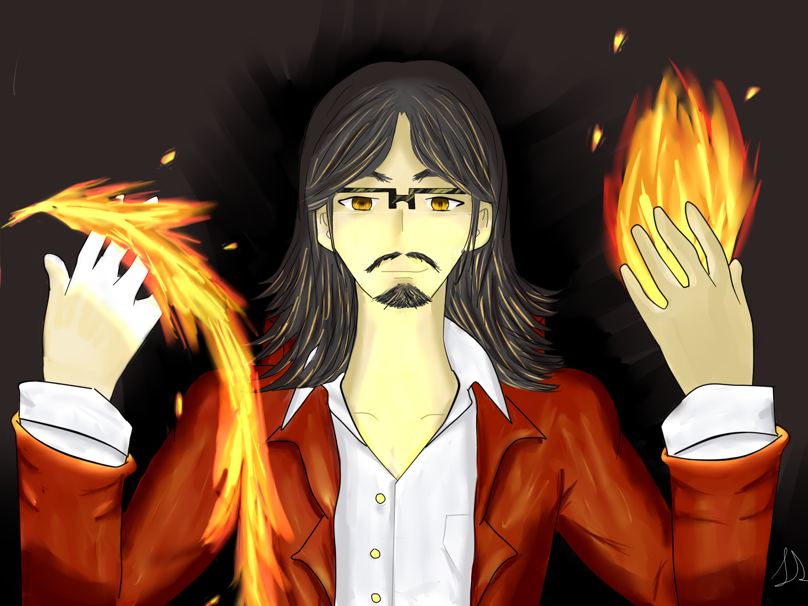 Fire Mage...guy