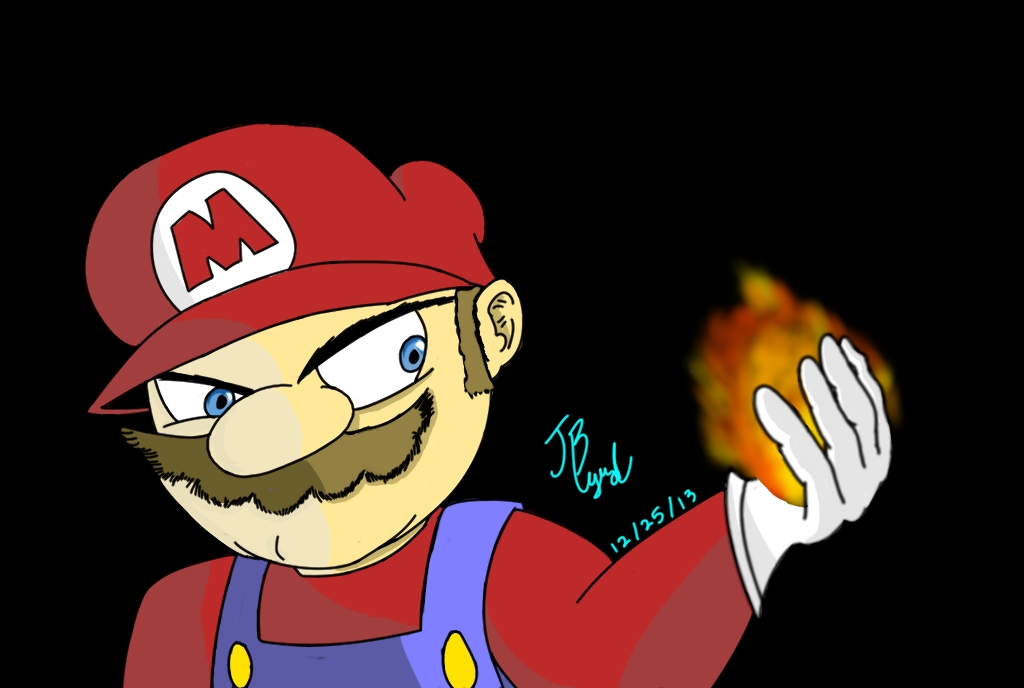 Mario, is here.