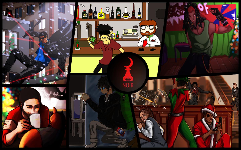 [NOIR] Christmas collab 2013