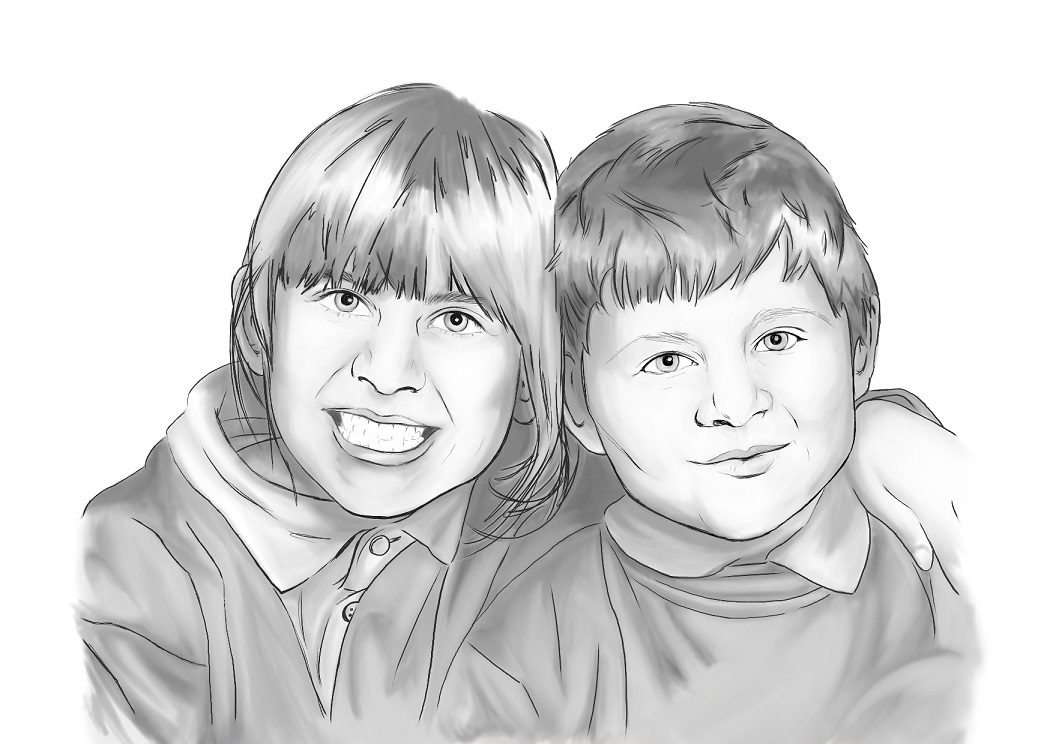 COMMISSION: SIBLINGS 2