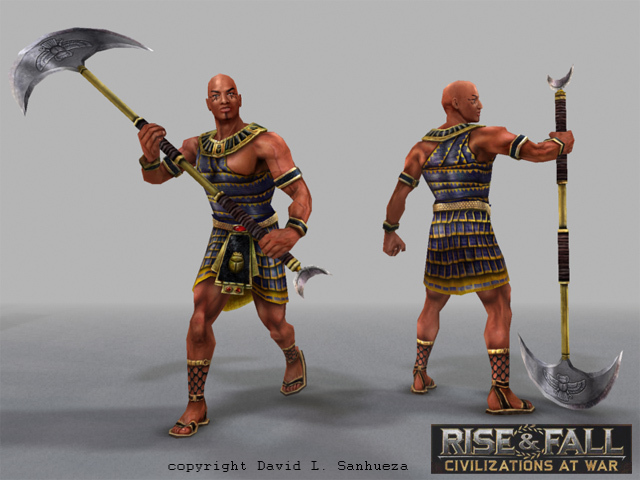 3D game character: High Priest