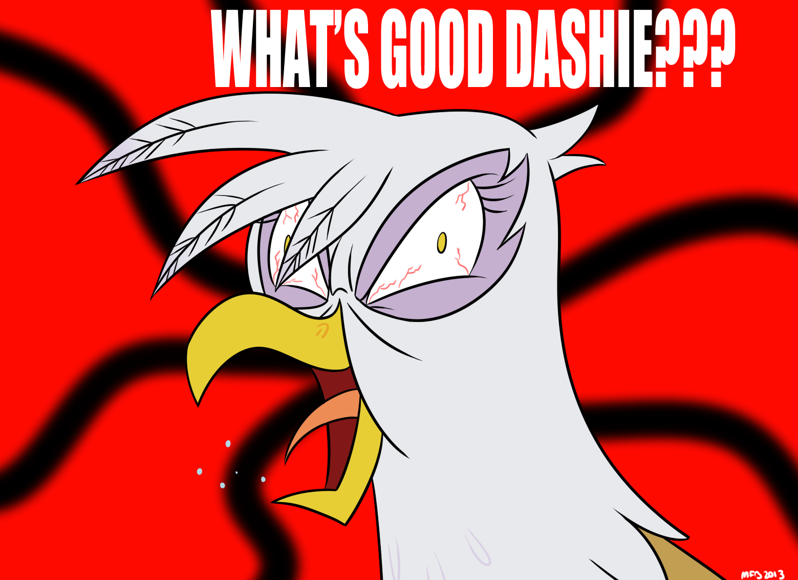 WHAT'S GOOD DASHIE???