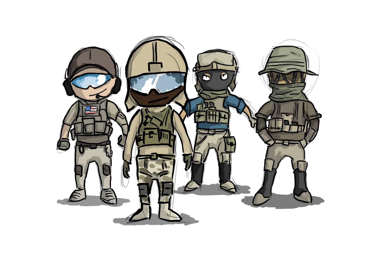 Battlefield 4 - US Team