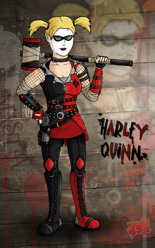 My DC Designs: Harley Quinn