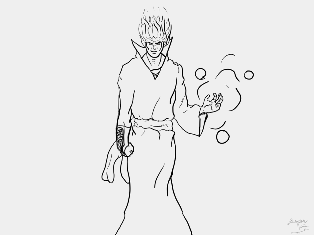 Have I improved yet lineart