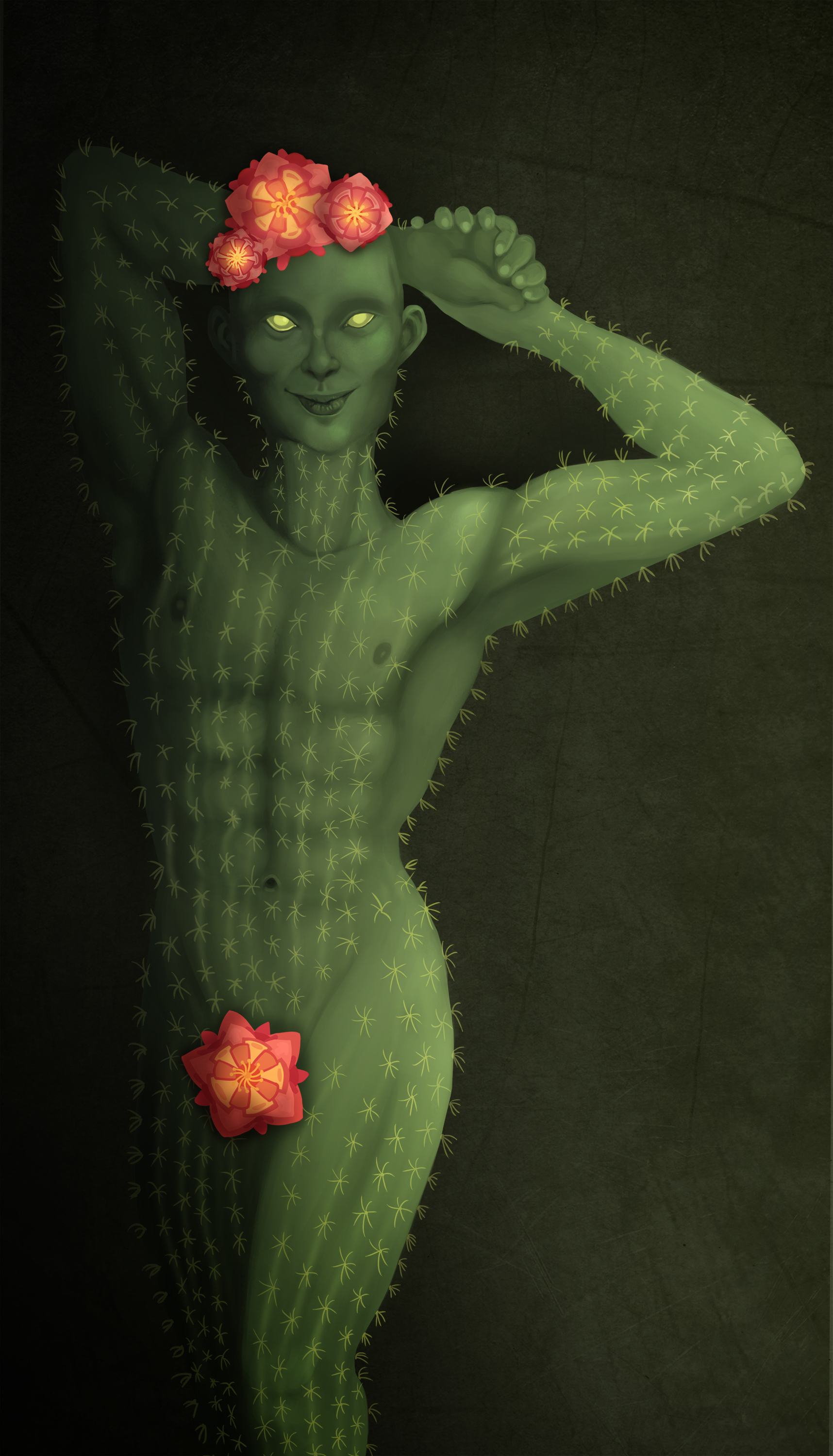 The sleazy cactusman