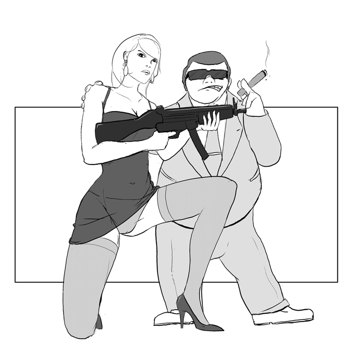 Gangster Boss Fatty & Eve
