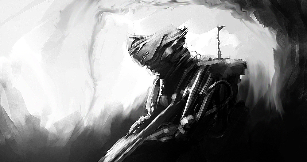 Telekinetic Soldier Sketch