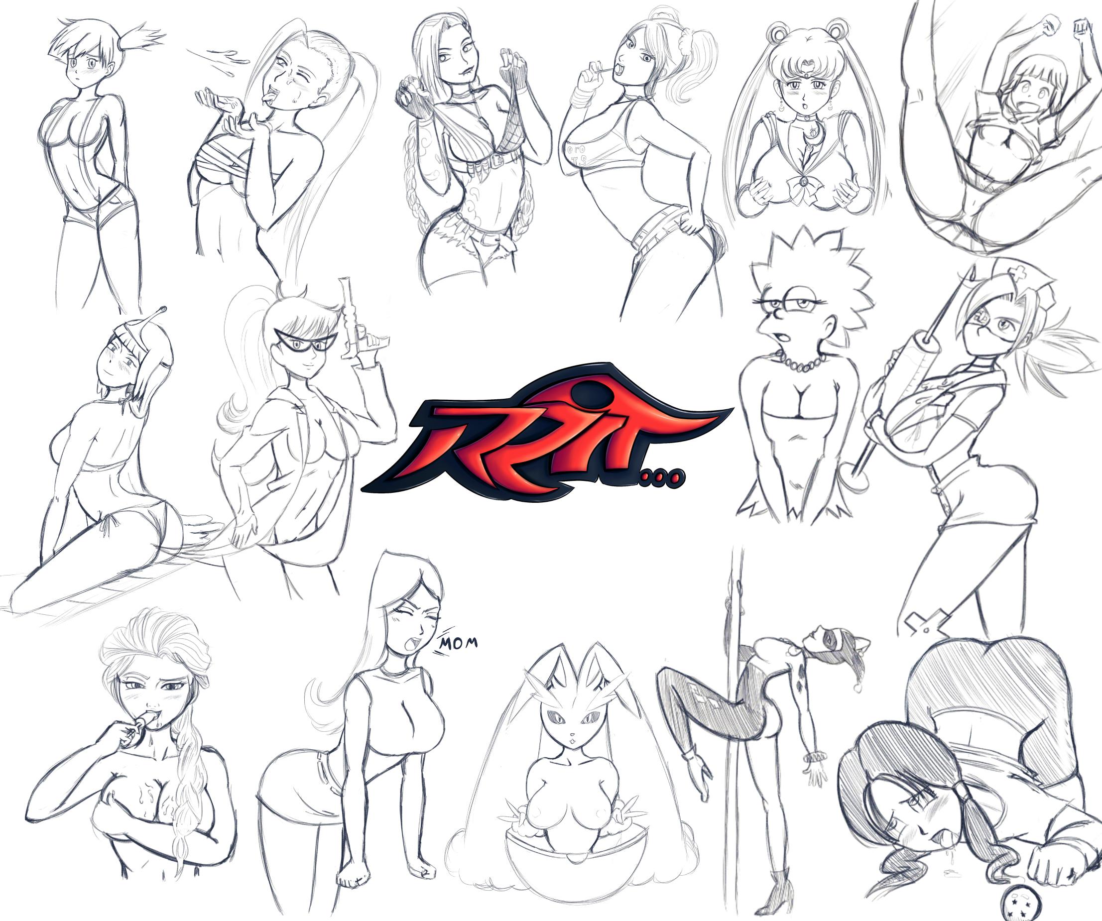 Sketching Sketches!