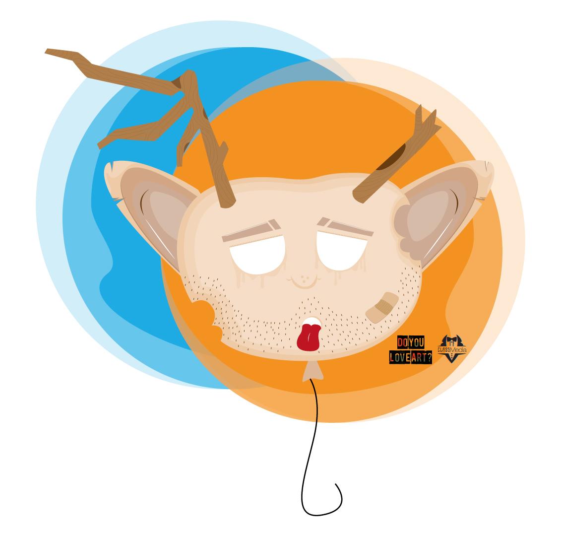 Balloon Head illustration
