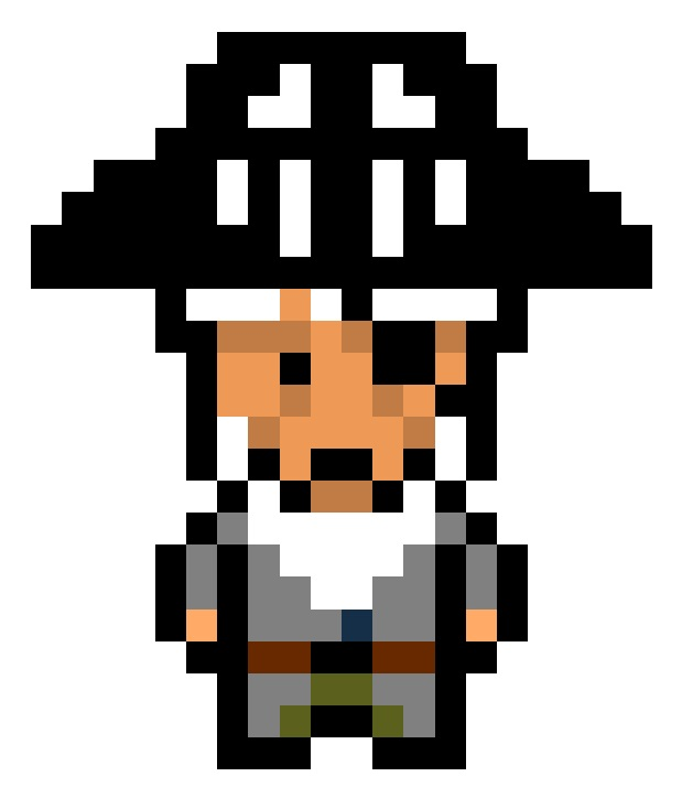 BlackHat for Pixel Piracy game