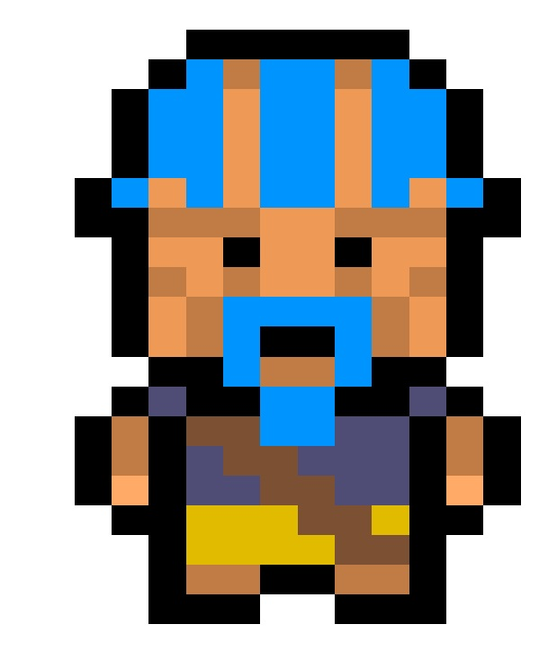 Punky pirate for Pixel Piracy