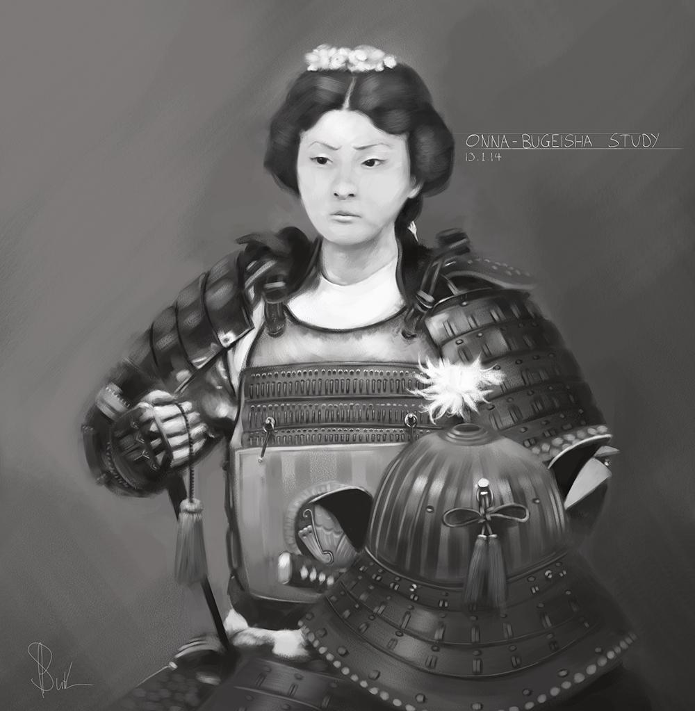 Onna - Bugeisha Study