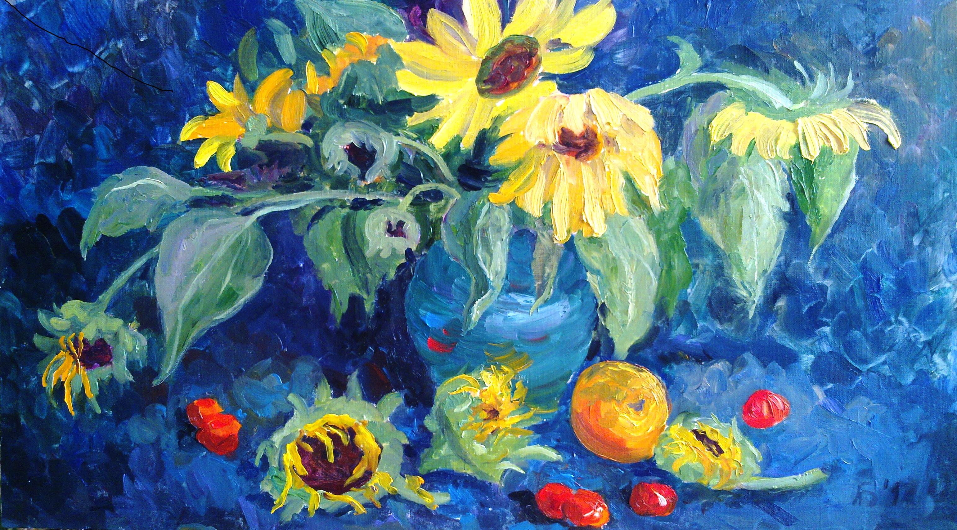 """""""Tribute to Van Gogh"""""""