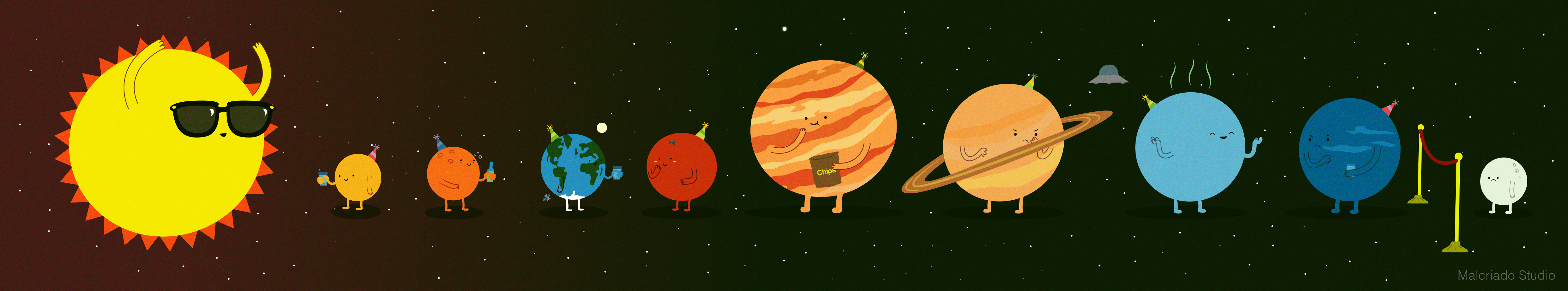 Solar System Party