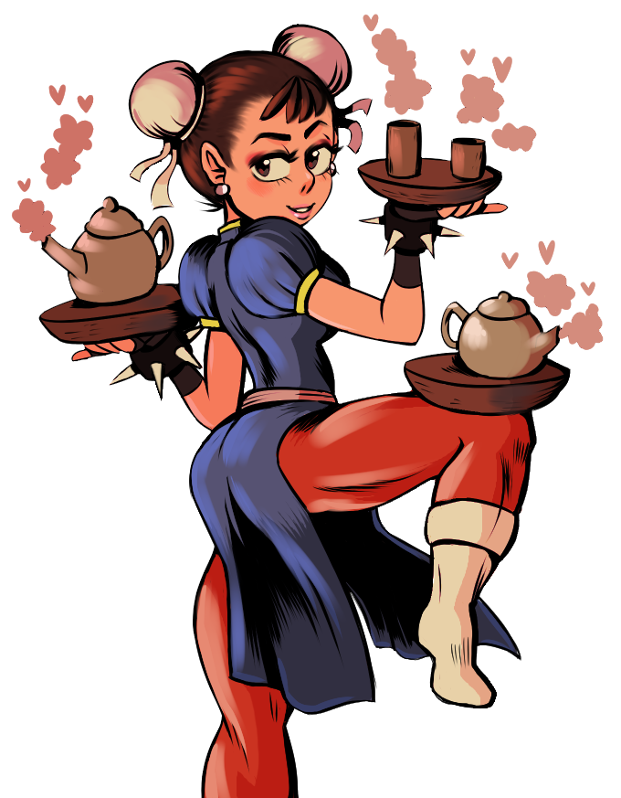 Chun-Li and TEA