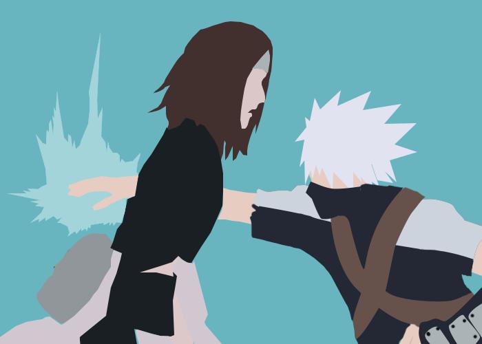 Kakashi Kills Rin