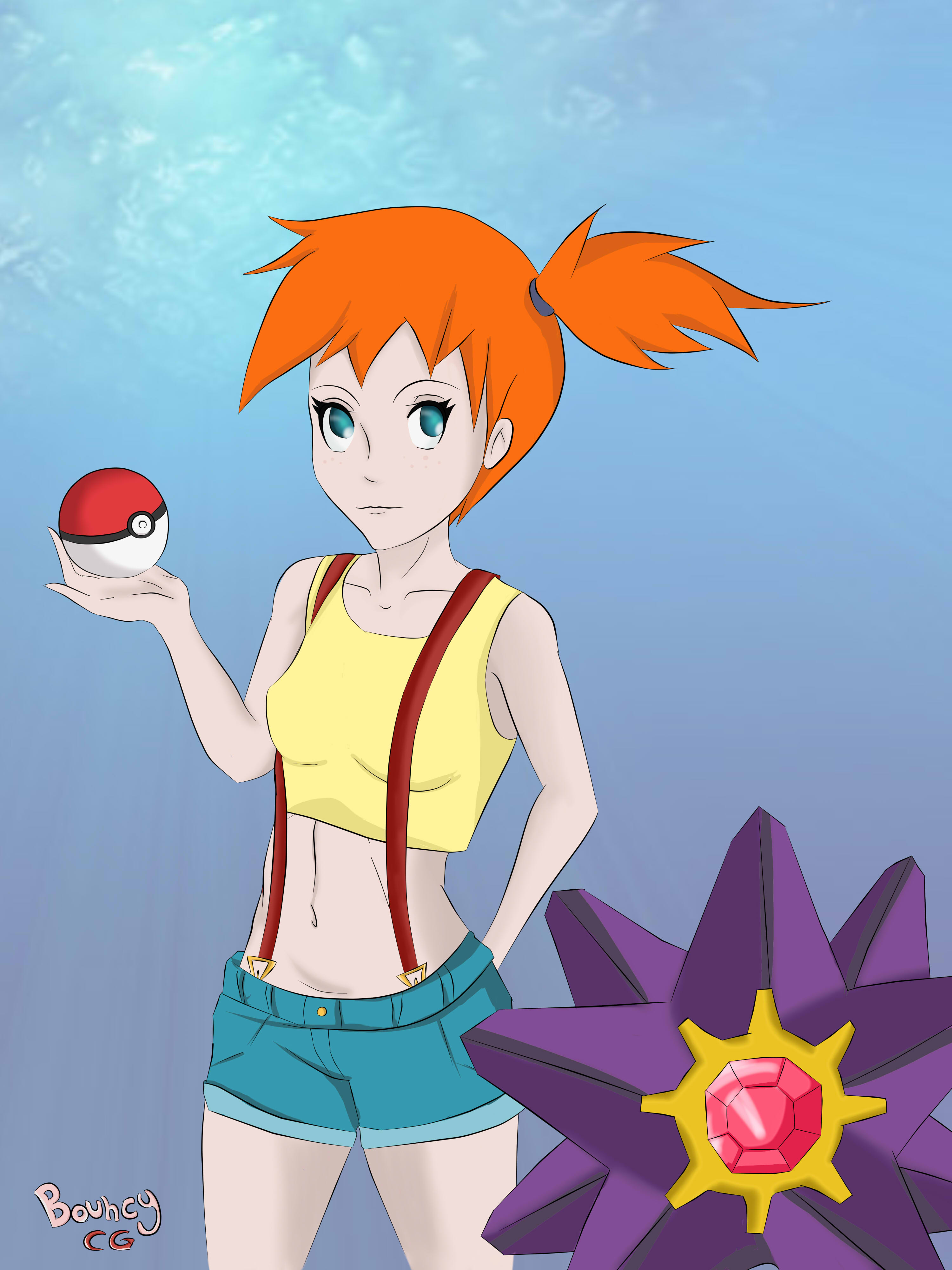 Misty and Starmie