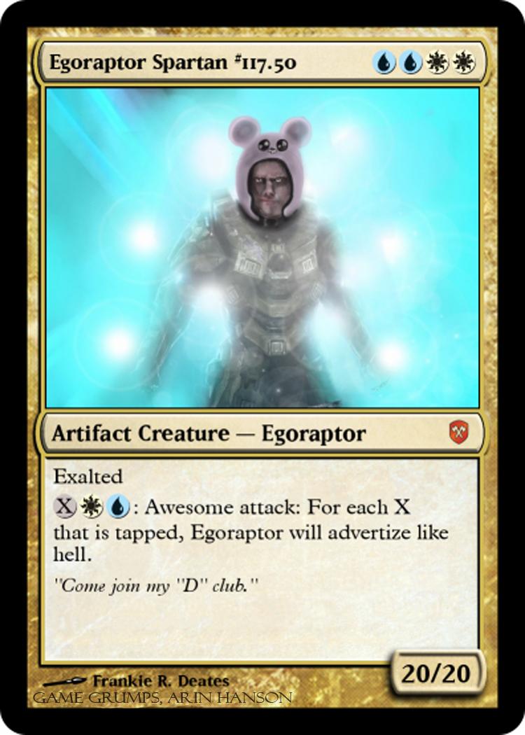 Egoraptor Spartan #117.5