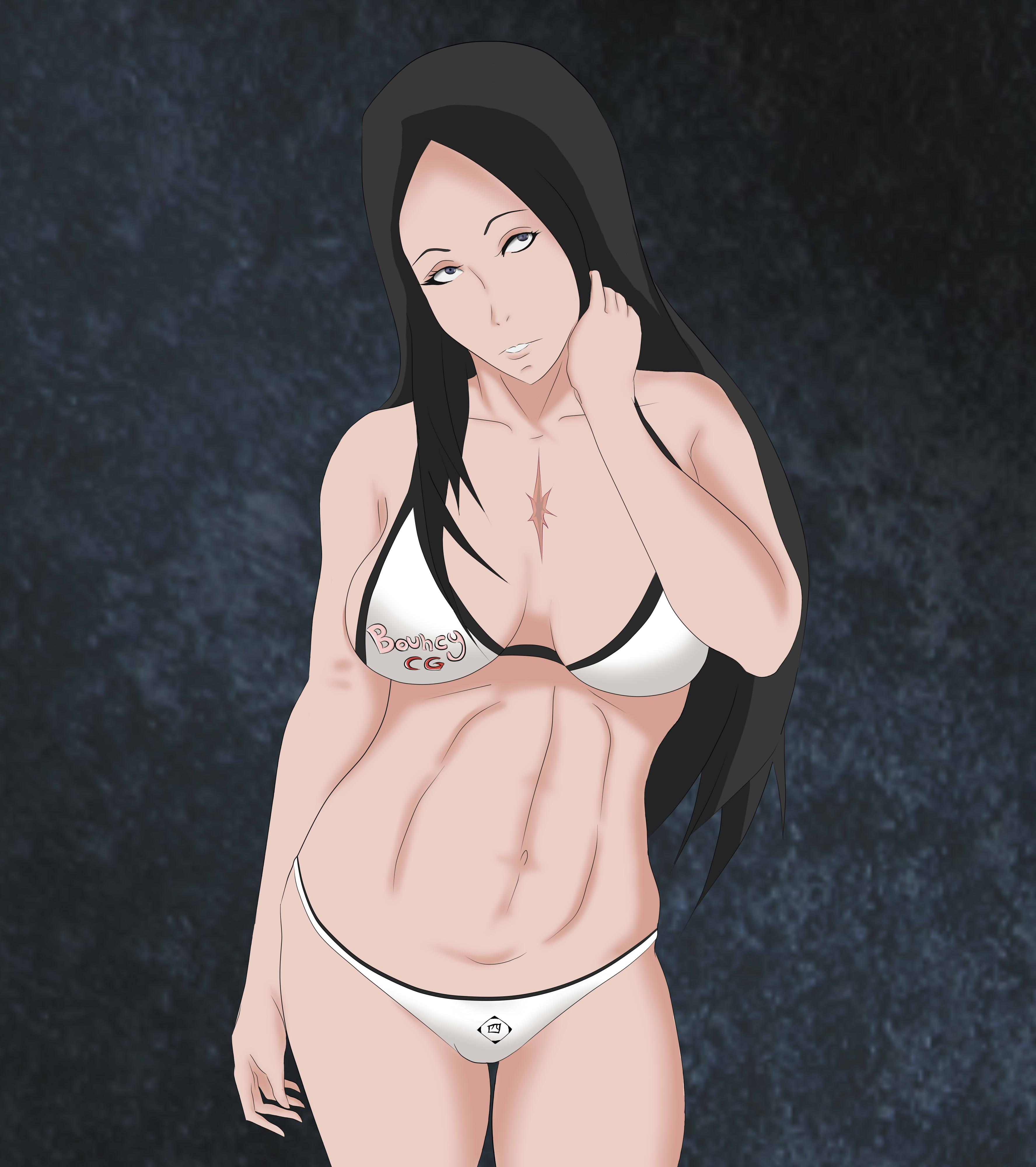 Unohana in squad bikini