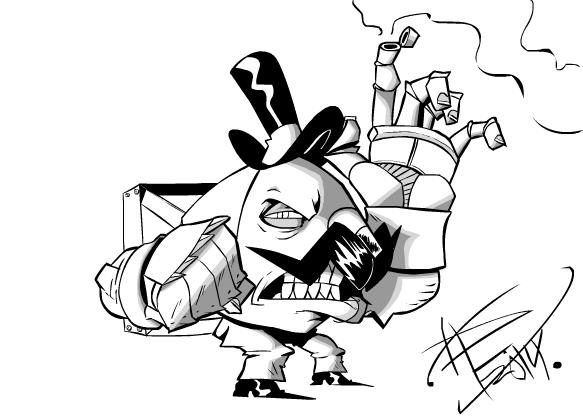 artillery man