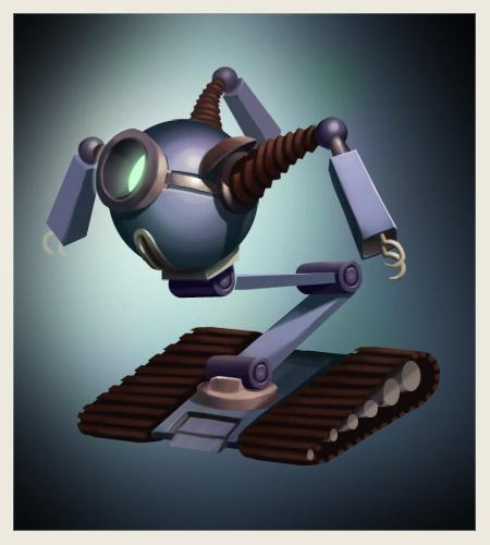 Art Weeklies #3: Robot