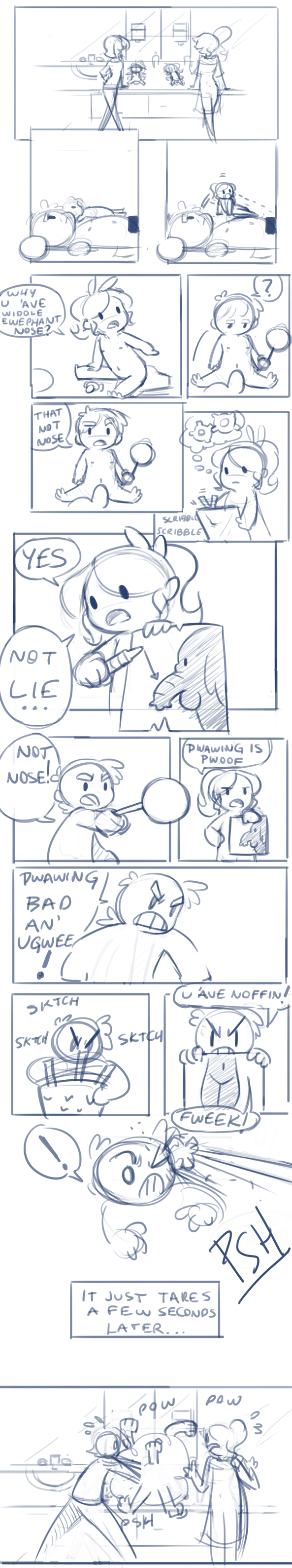How they met (mega old comic)