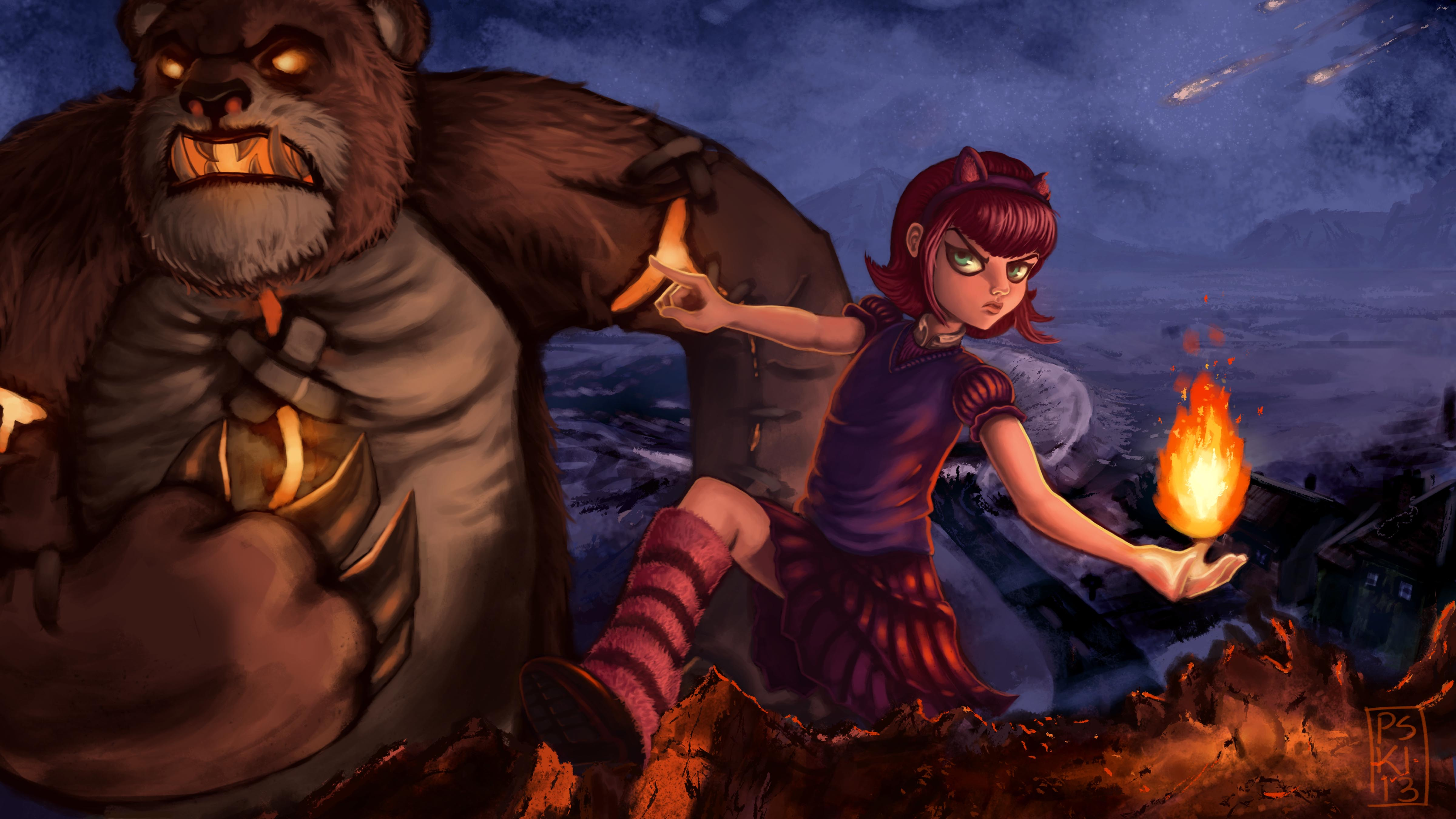 Annie and Tibbers: LoL