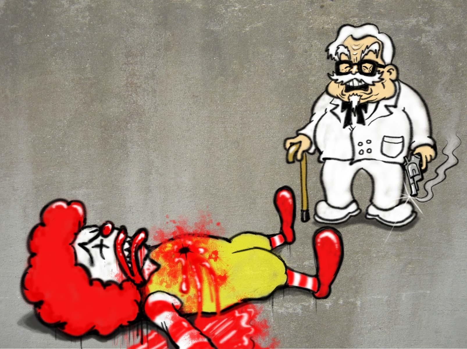 Ronald vs Colonel