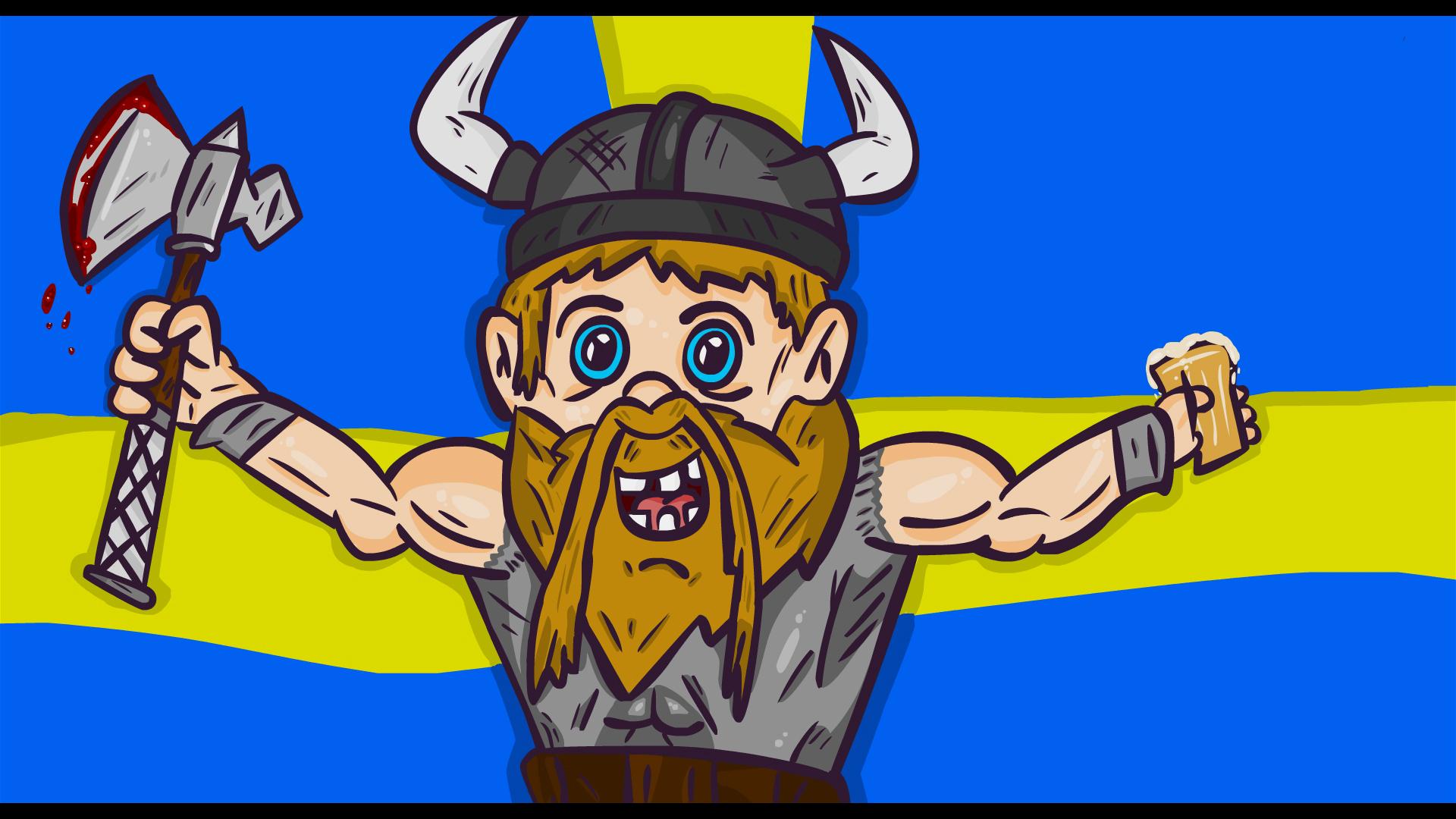 Drunk Viking