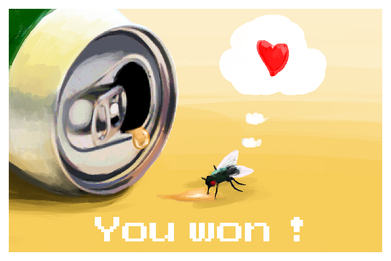 A fly's love