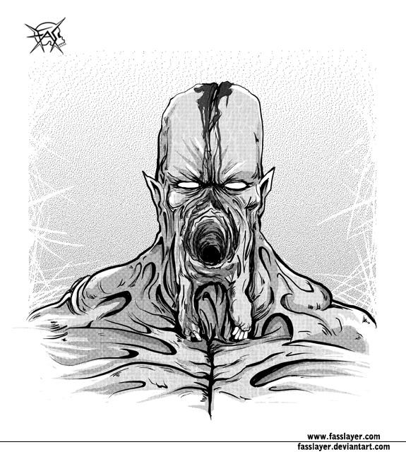 Monster portrait