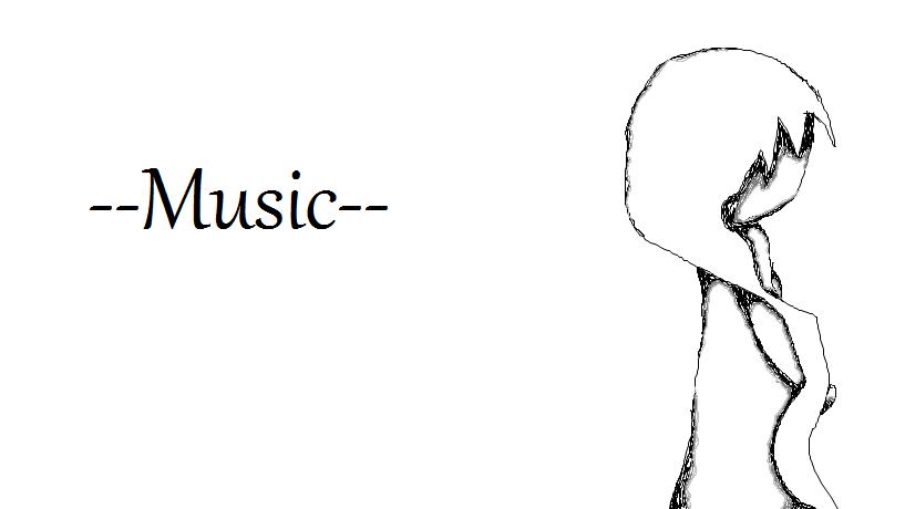 --Music--Alone In White