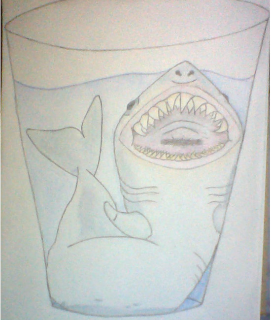 Shark in-a-Cup