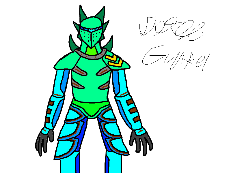 Aqua Knight *re-skin