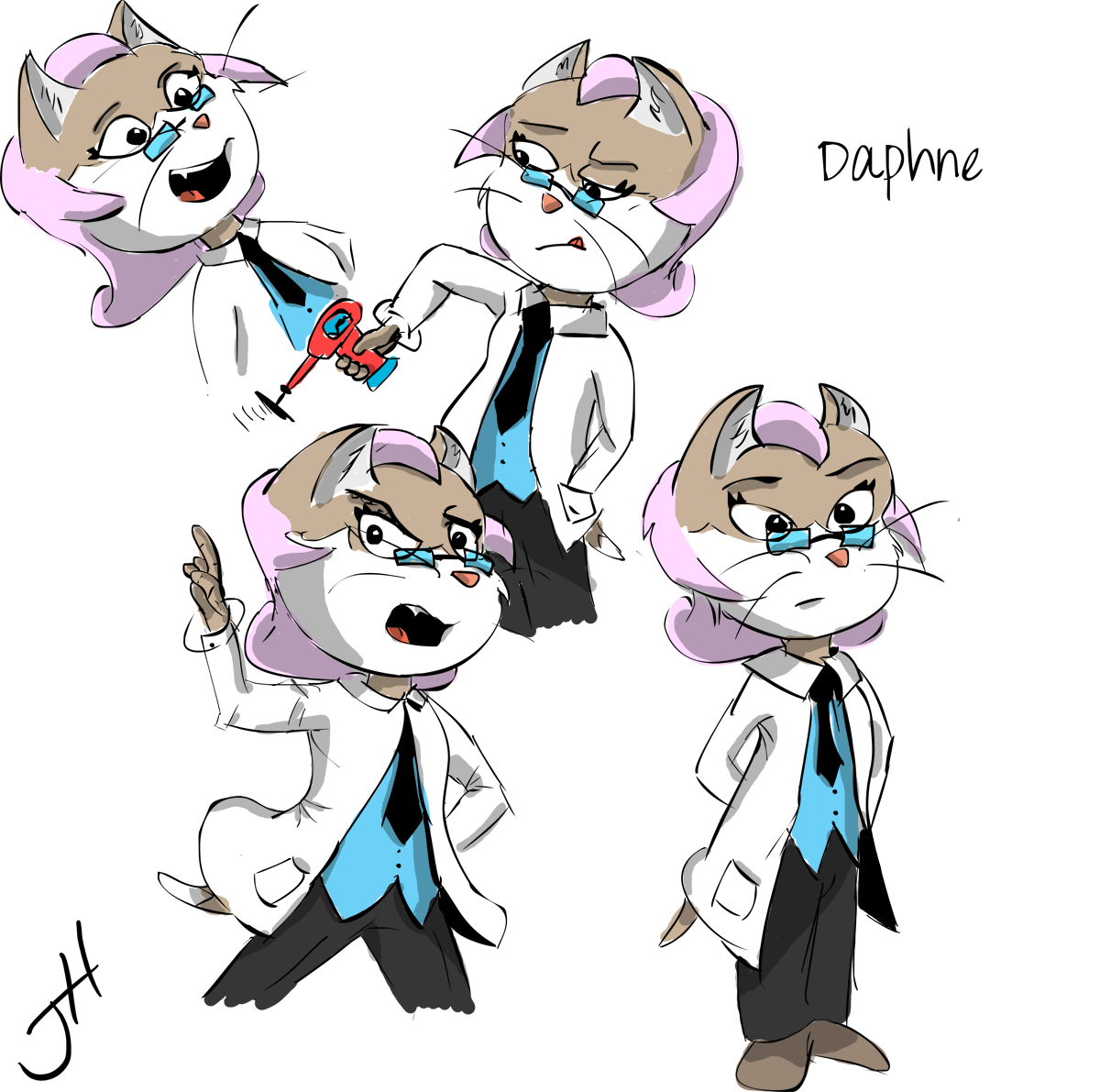 Daphne Goodwin Color Concept