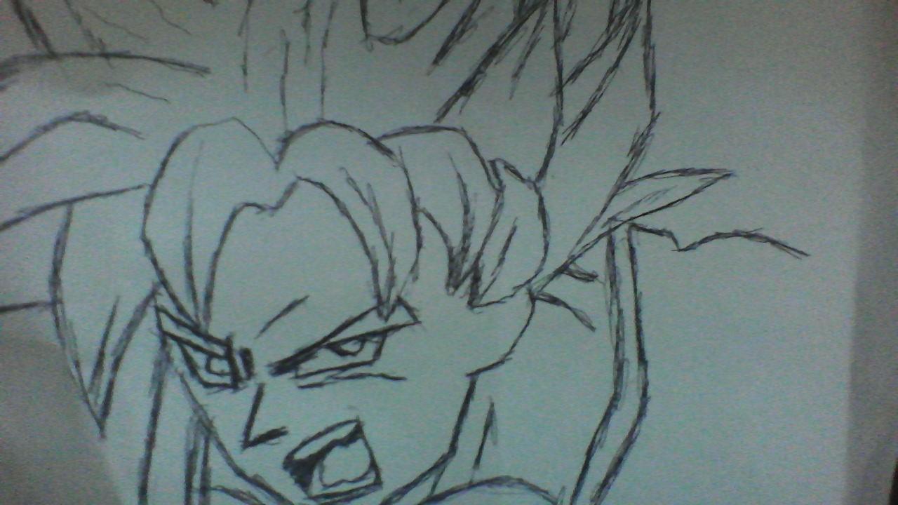 Goku Super sayian one