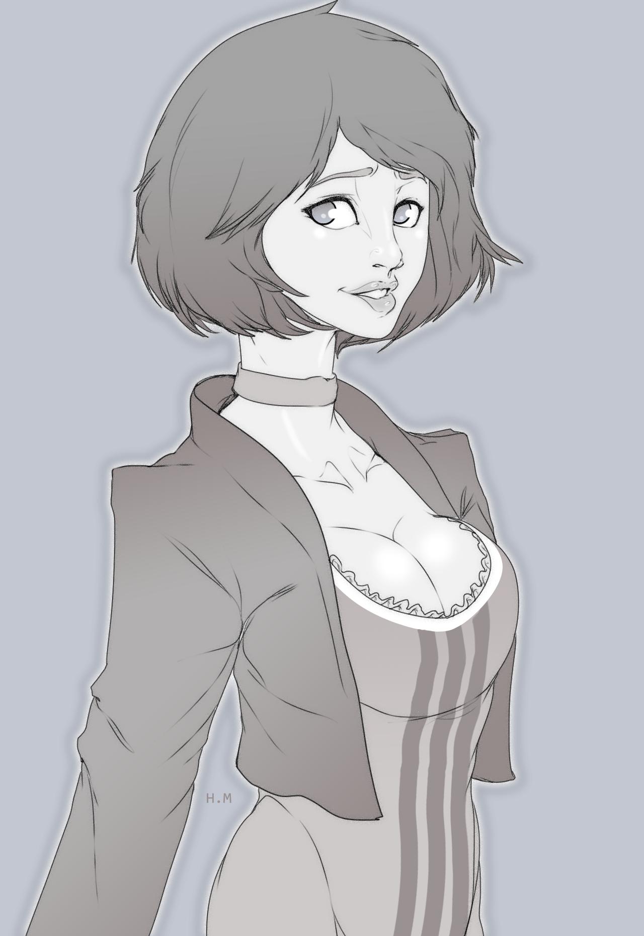 Elizabeth linework