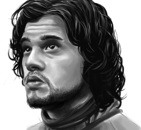 Jon Snow Realism Piece