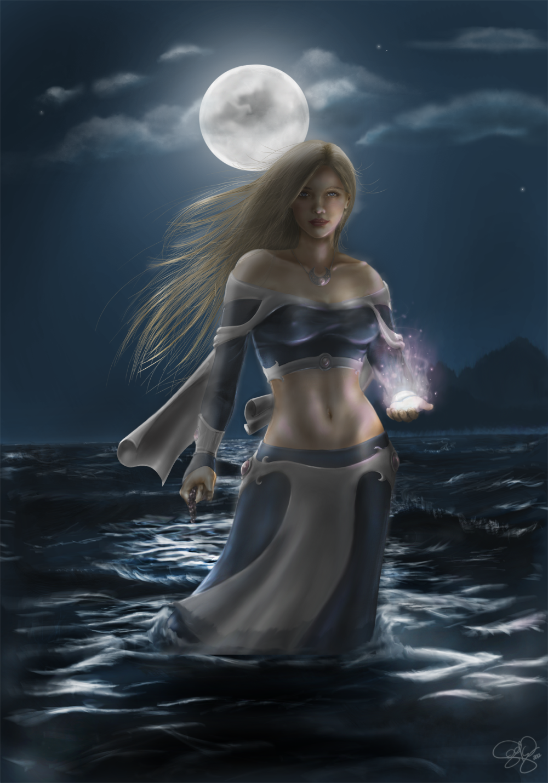 Sorcha by the Sea