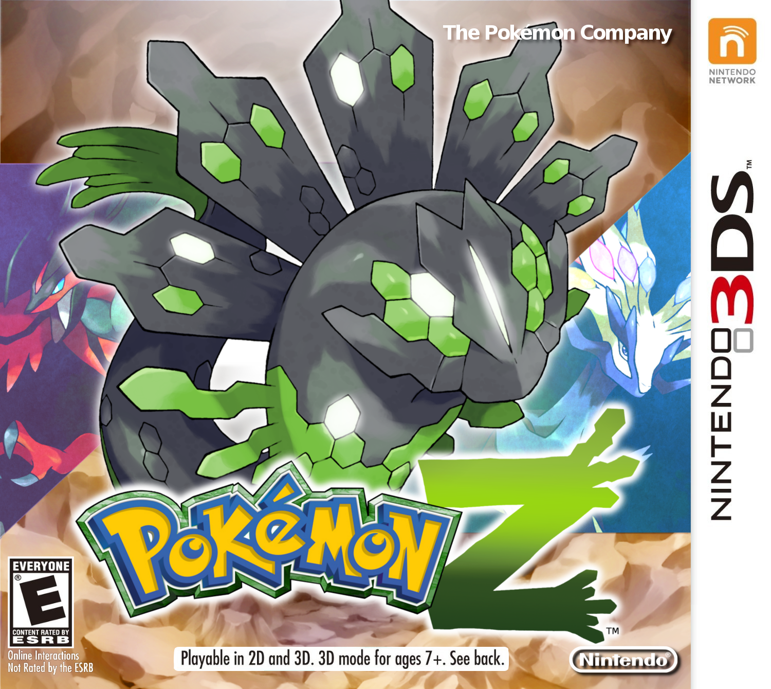 Pokemon Z - Fake Cover